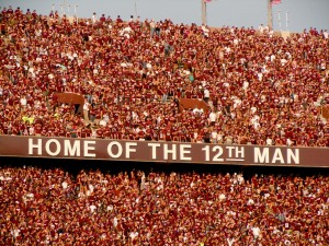 """Home of the 12th Man"""