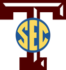 Aggies to the SEC logo